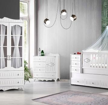 sultan 3 kapılı bebek odası 1